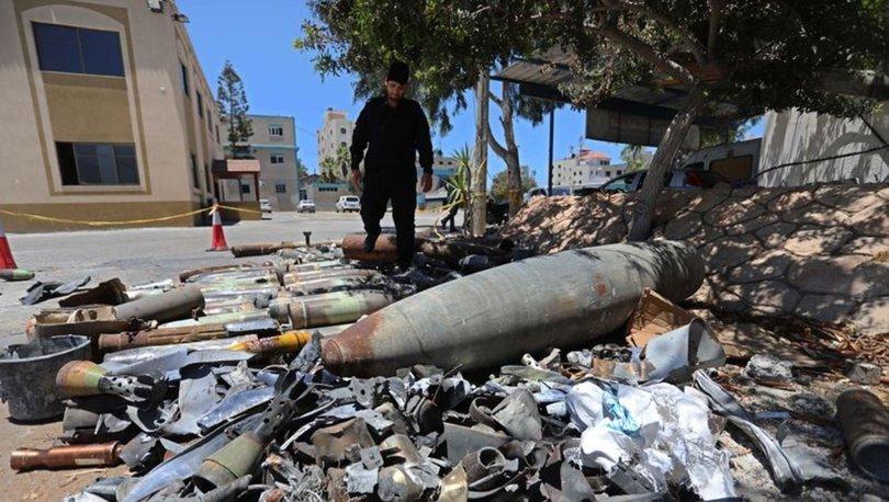 SON DAKİKA: Gazze'de patlamayan İsrail bombaları: Bin 200 füze, tank ve top mermisi etkisi hale getirildi!