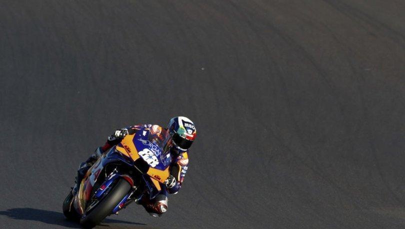 MotoGP Katalonya Grand Prix'sinde zafer Oliveira'nın