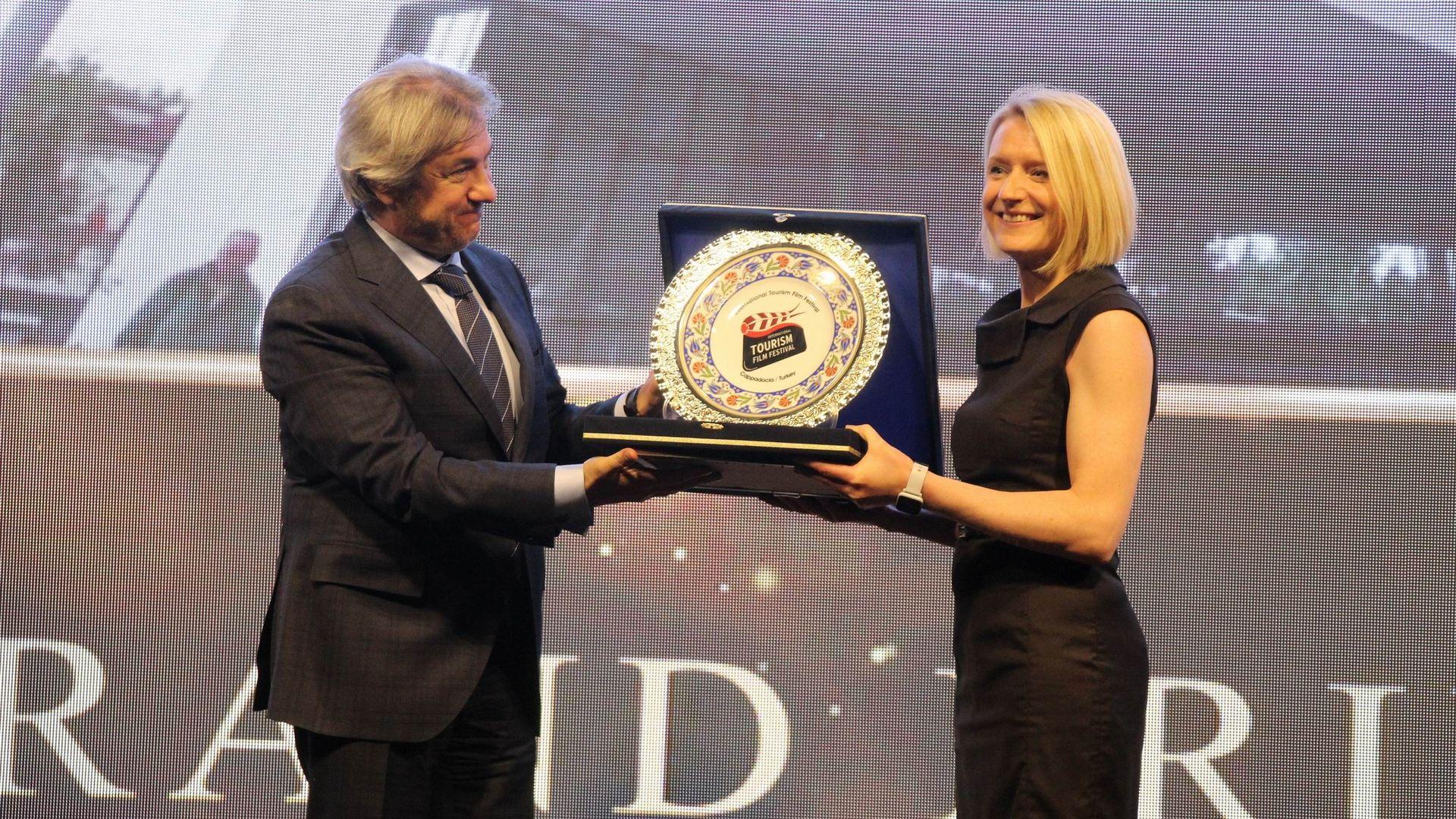 Turizm festivali ödülleri töreni gerçekleştirildi