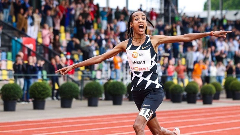 Hollandalı atlet Sifan Hassan, kadınlar 10 bin metrede dünya rekorunu kırdı