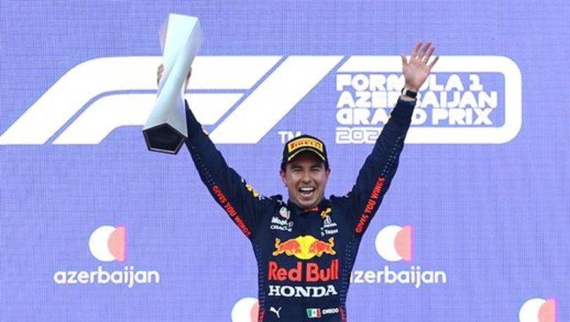Formula 1 Azerbaycan Grand Prix'sini Sergio Perez kazandı
