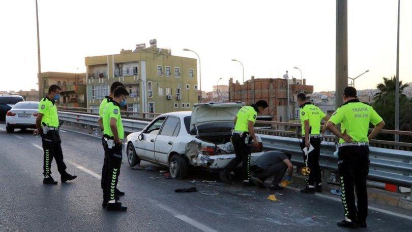 Şanlıurfa´da arıza yapan otomobil kazaya neden oldu: 2 ölü, 2 yaralı