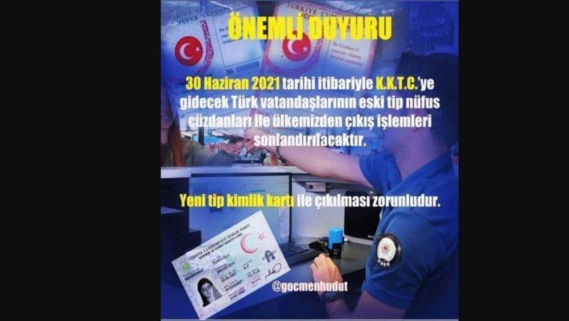 Kıbrıs'a gideceklere son dakika uyarısı: Yeni kimlik kartı yoksa... - Haberler