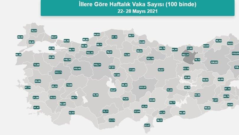 İl il risk haritası 6 Haziran! Türkiye risk haritasına göre düşük, orta, yüksek ve çok yüksek riskli iller