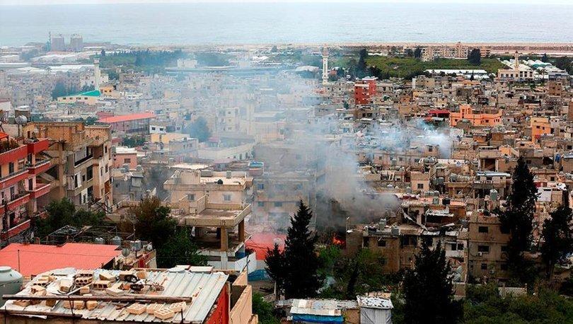 Lübnan'daki Filistinli mülteci kampında çatışma çıktı: 2 kişi öldü