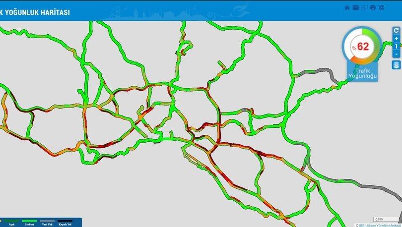 İSTANBUL FELÇ! Son dakika: Kısıtlama bitti, yoğunluk başladı - Trafik haritası