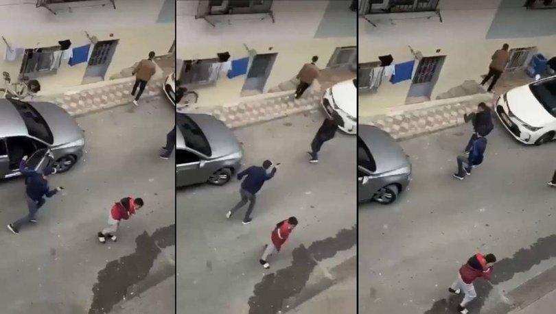 SON DAKİKA: Sokak ortasında dehşeti yaşadı! VİDEO HABER