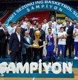 Cumhurbaşkanı Recep Tayyip Erdoğan, ING Basketbol Süper Ligi