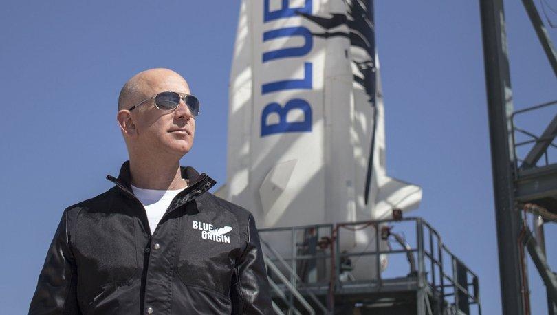 Jeff Bezos uzaya gitmeye hazırlanıyor