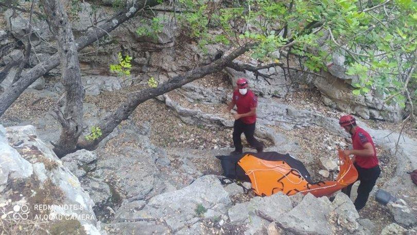 Antalya'da dere yatağında cansız beden bulundu