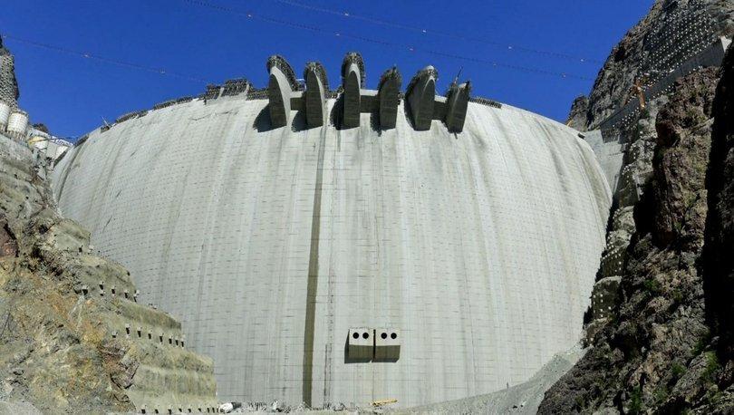 Yusufeli Barajı en geç 2023'te elektrik üretimine başlayacak