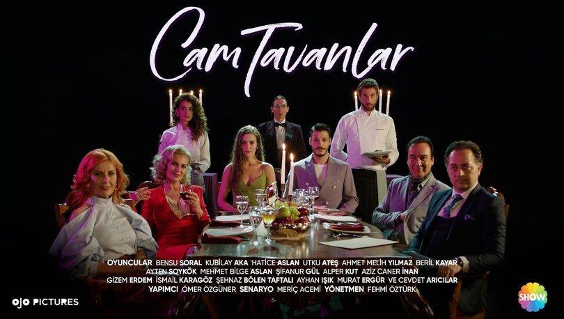'Cam Tavanlar'ın hareketli afişi yayınlandı!