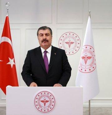 Sağlık Bakanı Fahrettin Koca, sosyal medya Twitter hesabından yaptığı paylaşımda,
