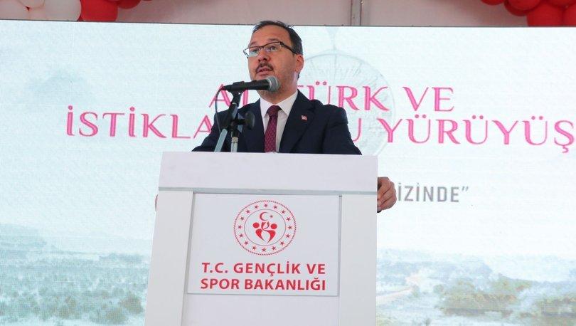 Bakan Kasapoğlu,
