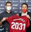 İspanya La Liga ekiplerinden Osasuna, orta saha oyuncusu Jon Moncayola´nın sözleşmesini 30 Haziran 2031´e kadar uzattığını açıkladı