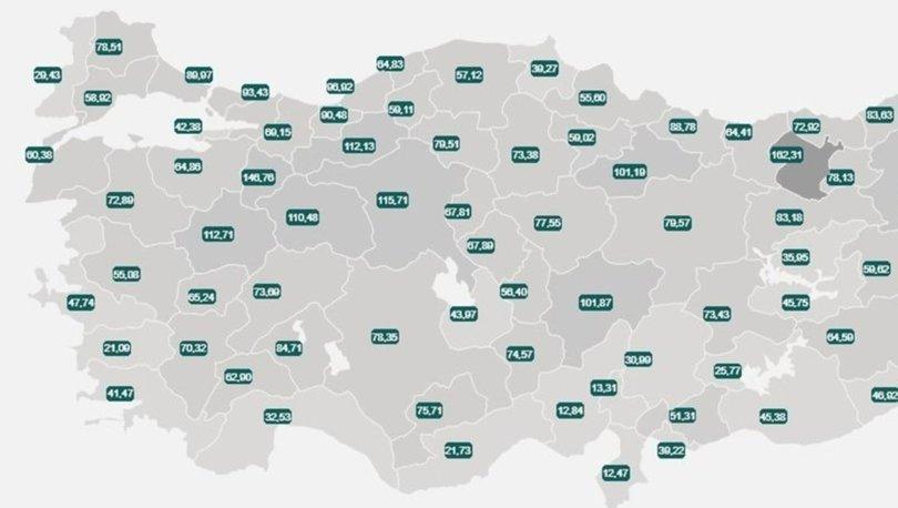 GÜNCELLENDİ! İl il risk haritası 8 Haziran! Türkiye risk haritasına göre düşük, orta, yüksek ve çok yüksek ris