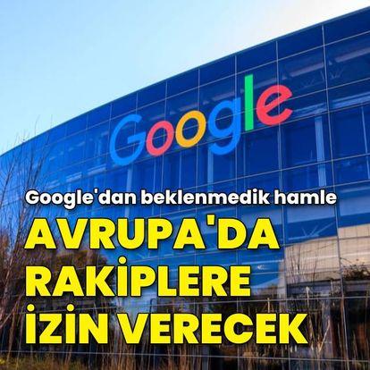 Google'dan rakip arama motorlarına Android izni