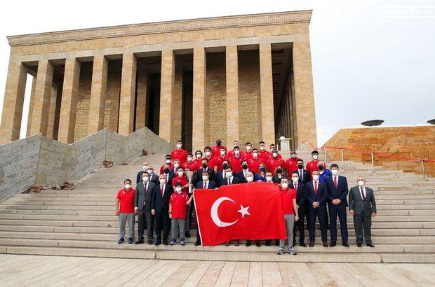 Anadolu Efes, Anıtkabir'i ziyaret etti