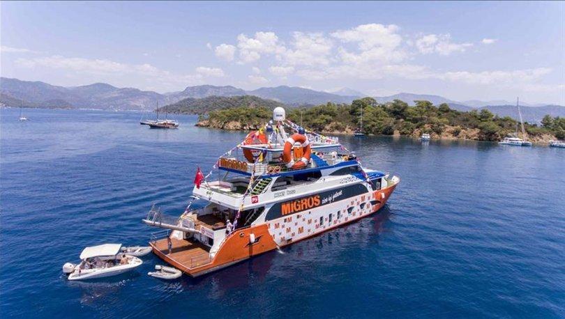 Migros denizde hizmet vermeyi sürdürecek