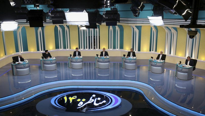 İran cumhurbaşkanı adaylarının televizyon tartışmasında