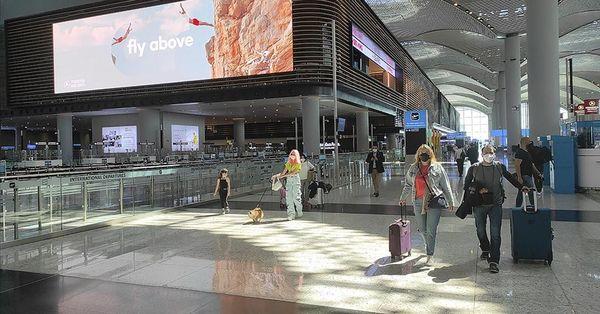 İstanbul Havalimanı'nda yolcu sayısı arttı