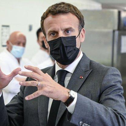 Macron, uğradığı tokatlı saldırı sonrası konuştu