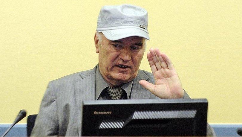Mladiç'in soykırım ve savaş suçundan müebbet cezası onandı