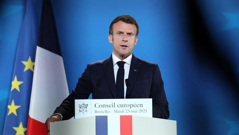 DÖVÜŞ USTASI ÇIKTI! Son dakika: Fransa Cumhurbaşkanı Macron'a tokat atıldı!