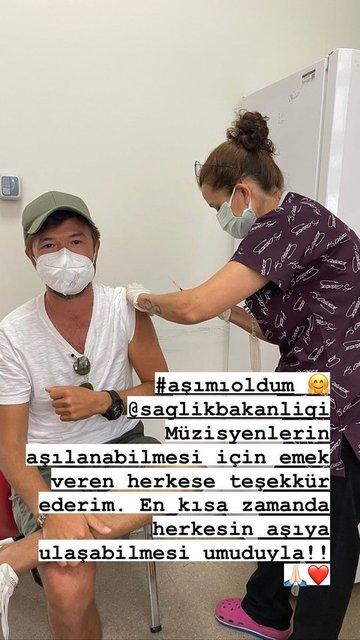 Gülşen, Bengü ve Merve Özbey aşı oldu - Magazin haberleri