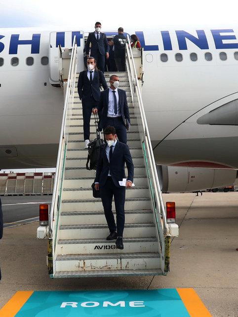 Bizim çocuklar İtalya'ya ulaştı!