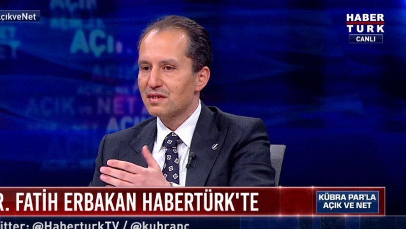 Fatih Erbakan, Habertürk TV'ye son dakika açıklamaları: HDP'nin kapatılması... - Haberler