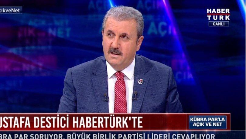 Mustafa Destici'den Habertürk TV'de son dakika açıklaması: 2023 sonuna bırakılmalı! - Haberler