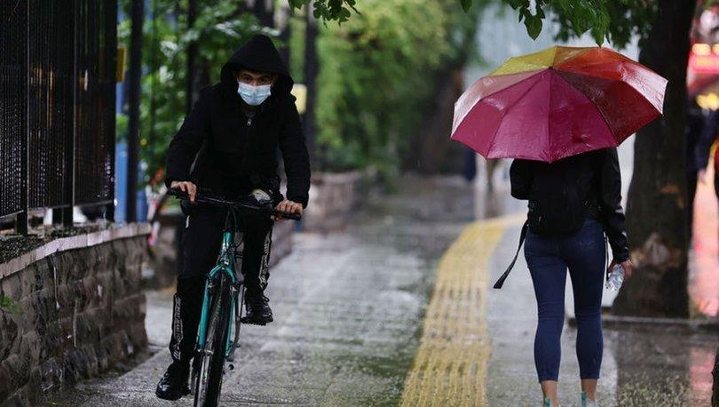 Meteoroloji'den son dakika sağanak yağmur uyarısı - Hava durumu