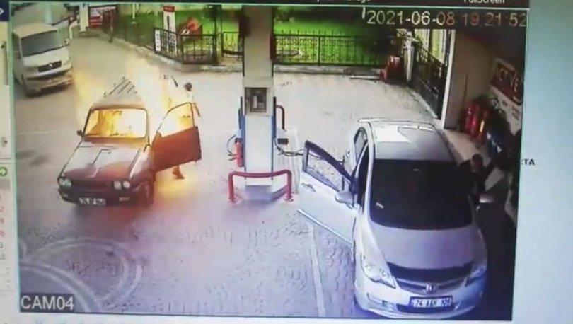 SON DAKİKA: Benzin istasyonunda dehşeti yaşadı!