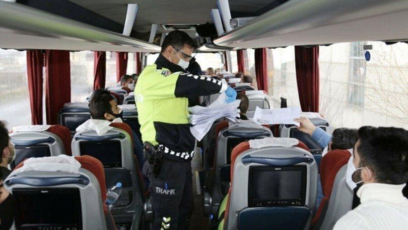 Otobüsle, özel araçla şehirler arası seyahat yasağı var mı? Şehirler arası yolculuk yapılabilir mi?