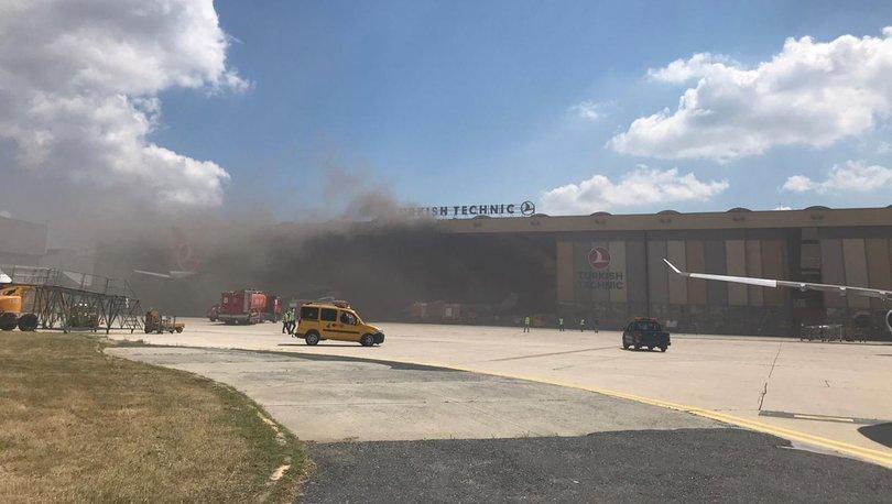 Atatürk Havalimanı'nda oksijen tüpü patladı - Haberler