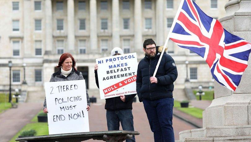 İngiltere ve AB arasında Kuzey İrlanda anlaşmazlığı