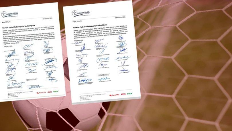 Kulüpler Birliği'nden ıslak imzalı iki bildiri!