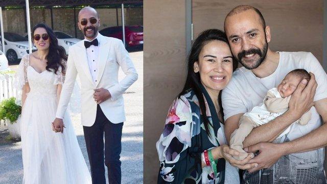 Sinem Yalçınkaya-Sarp Akkaya çifti, Kaan bebeğin yüzünü gösterdi - Magazin haberleri
