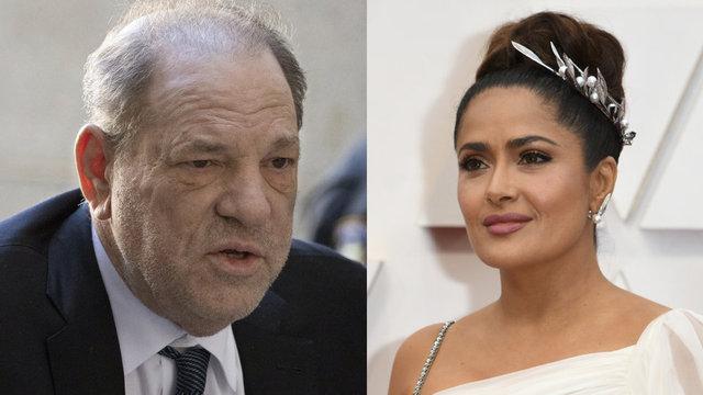 Salma Hayek: Film uğruna Harvey Weinstein'in tacizcine katlandım! - Magazin haberleri