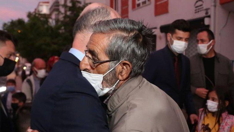 İçişleri Bakanı Soylu'dan şehit jandarma Keleşin ailesine taziye ziyareti