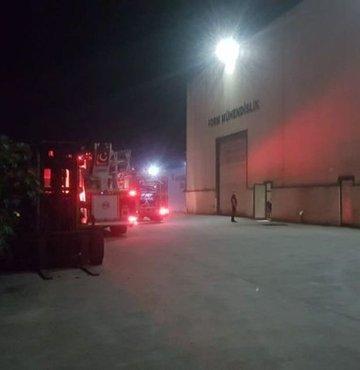 Zonguldak'ın Ereğli ilçesindeki Organize Sanayi Bölgesi'nde (OSB) faaliyet gösteren ve demir çelik imalatı yapan fabrikadan dumanlar yükseldiği ihbarını alan itfaiye ekipleri yaptıkları kontrollerde yangın olmadığını belirledi