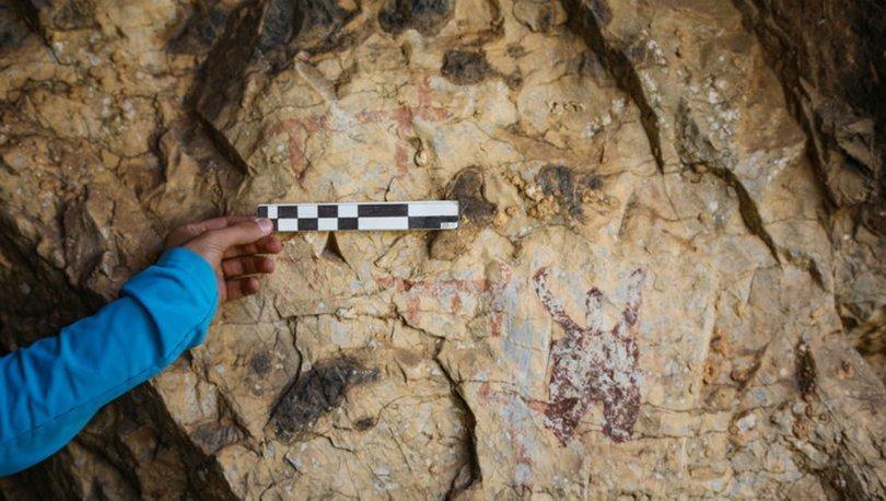 Van'daki Put mağaralarının duvarlarına işlenen kaya resimleri incelenecek