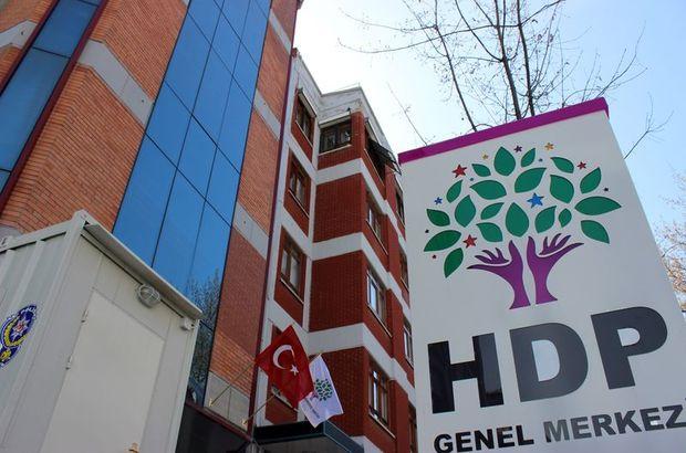 HDP'ye kapatma davası: 451 kişi için yasak isteniyor