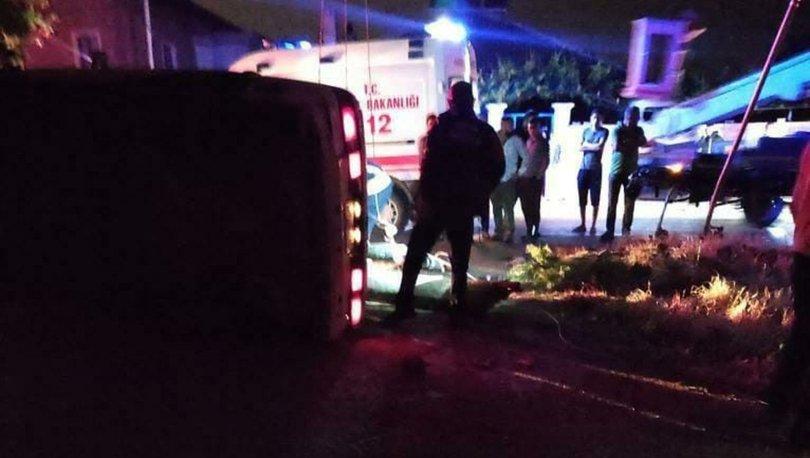 15 yaşındaki çocuk kaza yaptı: 2 ölü, 3 yaralı! - Haberler
