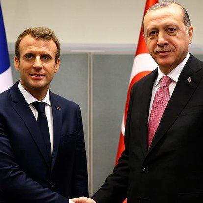Son dakika! Macron'dan Erdoğan'a mesaj: Birbirimizle konuşmalıyız