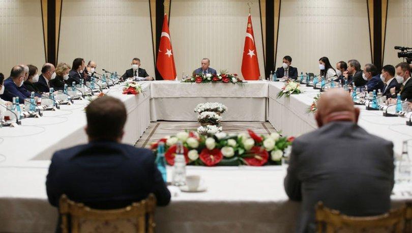 Son dakika haberleri! Cumhurbaşkanı Erdoğan'dan musilaj zirvesi