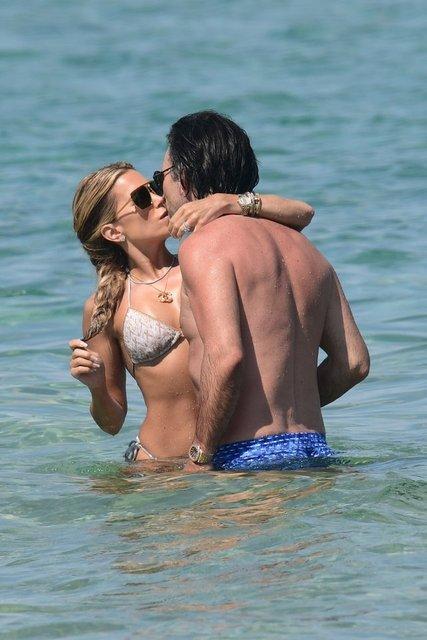 Sylvie Meis ile Niclas Castello'nun romantik anları - Magazin haberleri