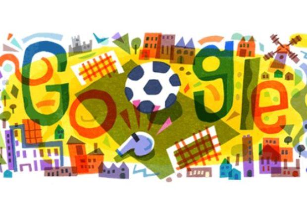 Google'dan Euro 2020 için doodle