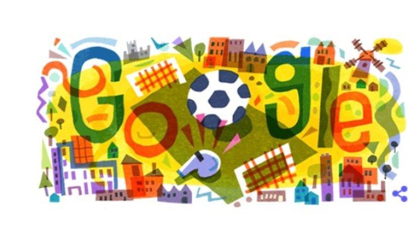 EURO 2020 başlıyor! Google'dan Euro 2020 için doodle